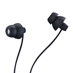Auricolari Cuffie In Ear Stereo Universali Sport Corsa H27 per Apple iPhone 11 Nero