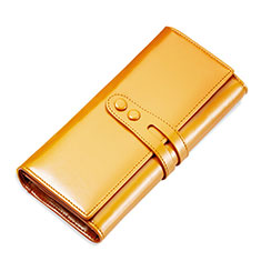 Borsetta Pochette Custodia In Pelle Universale H14 per Huawei Mate 30 5G Oro