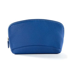 Borsetta Pochette Custodia In Pelle Universale K14 per Apple iPhone 11 Pro Blu