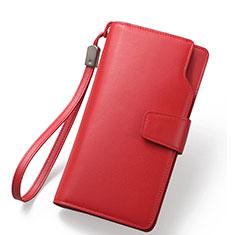Borsetta Pochette Custodia In Pelle Universale Rosso