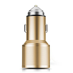 Caricabatteria da Auto Doppia Porta Adattatore 3.0A Universale K01 per Huawei Mate 30 Oro