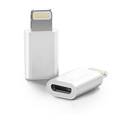 Cavo Android Micro USB a Lightning USB H01 per Apple iPhone 11 Pro Bianco