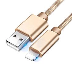 Cavo da USB a Cavetto Ricarica Carica L08 per Apple iPhone 12 Pro Oro