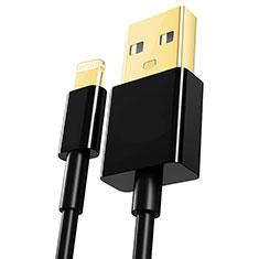 Cavo da USB a Cavetto Ricarica Carica L12 per Apple iPad Pro 12.9 (2020) Nero