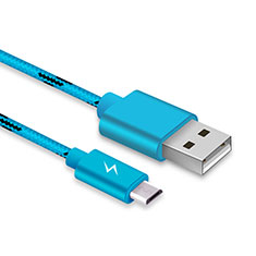 Cavo USB 2.0 Android Universale A03 Cielo Blu