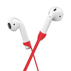 Cinturino Braccialetto Sportivo Silicone Cavo Anti-perso C05 per Apple AirPods Pro Rosso