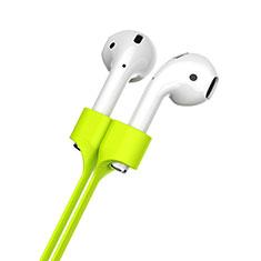 Cinturino Braccialetto Sportivo Silicone Cavo Anti-perso per Apple AirPods Pro Verde