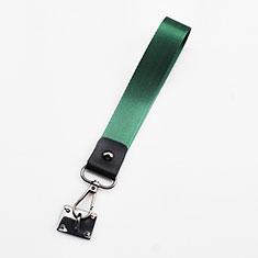 Cordino da Polso Laccetto da Polso Cinghia Cordino Mano K06 per Samsung Galaxy Note 9 Verde