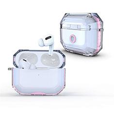 Cover Crystal Trasparente Rigida Cover H01 per Apple AirPods Pro Rosa