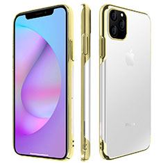 Cover Crystal Trasparente Rigida Cover H01 per Apple iPhone 11 Pro Oro