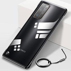 Cover Crystal Trasparente Rigida Cover H01 per Huawei Honor 30 Pro Nero