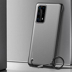 Cover Crystal Trasparente Rigida Cover H01 per Huawei P40 Pro+ Plus Nero