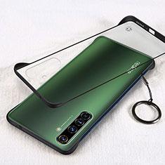 Cover Crystal Trasparente Rigida Cover H01 per Realme X50 Pro 5G Nero