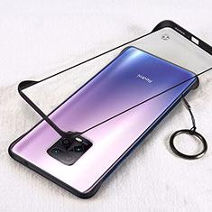 Cover Crystal Trasparente Rigida Cover H01 per Xiaomi Redmi 10X Pro 5G Nero