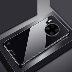 Cover Crystal Trasparente Rigida Cover H02 per Huawei Mate 30 Nero