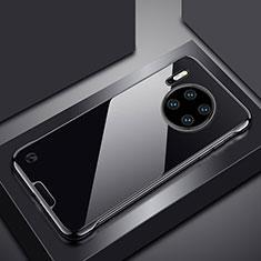 Cover Crystal Trasparente Rigida Cover H02 per Huawei Mate 30 Pro 5G Nero