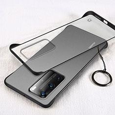 Cover Crystal Trasparente Rigida Cover H02 per Huawei P40 Pro Nero