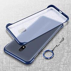 Cover Crystal Trasparente Rigida Cover H02 per Xiaomi Redmi 8A Blu