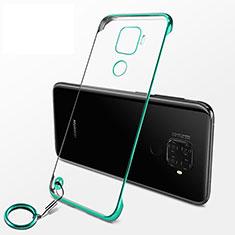 Cover Crystal Trasparente Rigida Cover H04 per Huawei Nova 5z Verde
