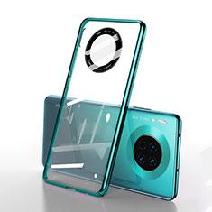 Cover Crystal Trasparente Rigida Cover S01 per Huawei Mate 30E Pro 5G Verde