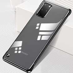 Cover Crystal Trasparente Rigida Cover S01 per Samsung Galaxy S20 Plus 5G Nero