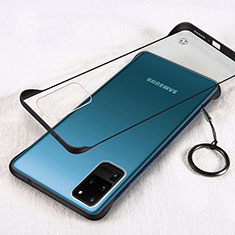 Cover Crystal Trasparente Rigida Cover S03 per Samsung Galaxy S20 Ultra 5G Nero