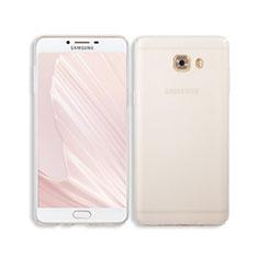 Cover Crystal Trasparente Rigida per Samsung Galaxy C9 Pro C9000 Chiaro