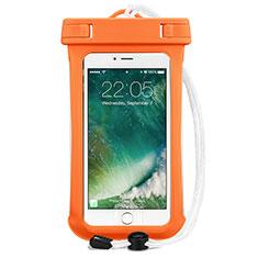 Cover Impermeabile Subacquea Universale per Huawei Mate 30 5G Arancione