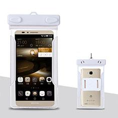 Cover Impermeabile Subacquea Universale per Huawei Mate 40 Bianco