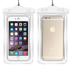 Cover Impermeabile Subacquea Universale W01 per Apple iPhone 11 Pro Bianco