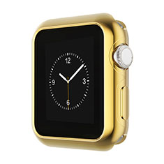 Cover Lusso Alluminio Laterale A01 per Apple iWatch 42mm Oro