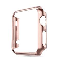 Cover Lusso Alluminio Laterale per Apple iWatch 3 42mm Rosa