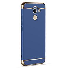 Cover Lusso Alluminio per Huawei Enjoy 7 Plus Blu