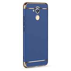 Cover Lusso Alluminio per Huawei Honor 6C Blu