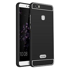Cover Lusso Alluminio per Huawei Honor V8 Max Nero