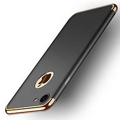 Cover Lusso Metallo Laterale e Plastica M02 per Apple iPhone 7 Nero