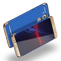 Cover Lusso Metallo Laterale e Plastica M02 per Huawei Mate 8 Blu
