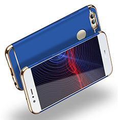 Cover Lusso Metallo Laterale e Plastica M02 per Huawei Nova 2 Plus Blu