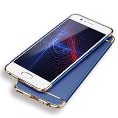 Cover Lusso Metallo Laterale e Plastica M02 per Huawei P9 Blu