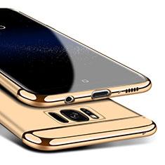Cover Lusso Metallo Laterale e Plastica M02 per Samsung Galaxy S8 Plus Oro
