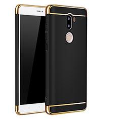 Cover Lusso Metallo Laterale e Plastica per Xiaomi Mi 5S Plus Nero