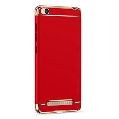 Cover Lusso Metallo Laterale e Plastica per Xiaomi Redmi 4A Rosso