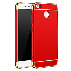 Cover Lusso Metallo Laterale e Plastica per Xiaomi Redmi 4X Rosso