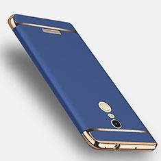Cover Lusso Metallo Laterale e Plastica per Xiaomi Redmi Note 3 Blu