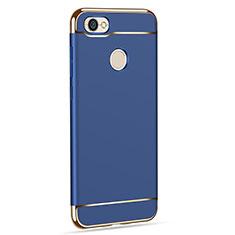 Cover Lusso Metallo Laterale e Plastica per Xiaomi Redmi Y1 Blu