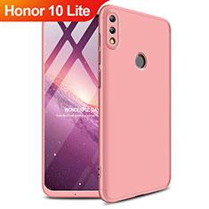 Cover Plastica Rigida Opaca Fronte e Retro 360 Gradi per Huawei Honor 10 Lite Oro Rosa