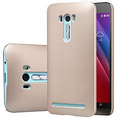 Cover Plastica Rigida Opaca M01 per Asus Zenfone Selfie ZD551KL Oro