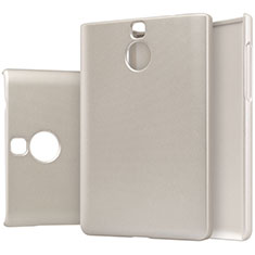 Cover Plastica Rigida Opaca M01 per Blackberry Passport Silver Edition Oro