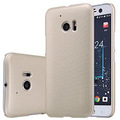 Cover Plastica Rigida Opaca M01 per HTC 10 One M10 Oro