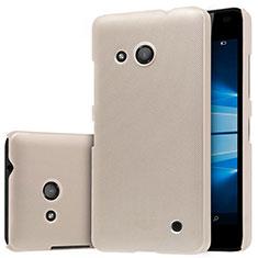 Cover Plastica Rigida Opaca M01 per Microsoft Lumia 550 Oro